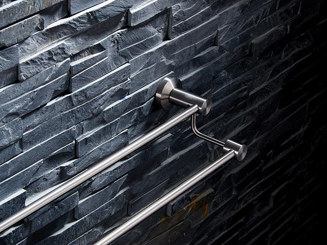 70748B High and low double towel bar